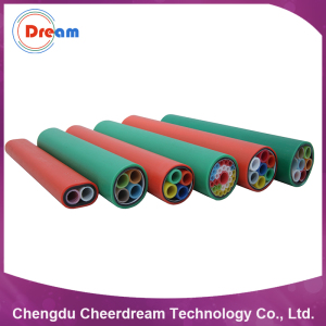 Direct Buried Air Blown Fiber Optic Cable HDPE Multi Duct